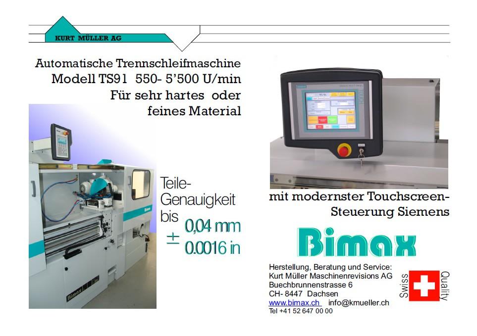 BIMAX Trennschleifmaschine